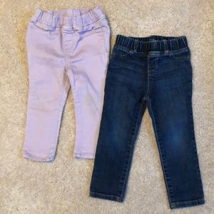 GAP toddler jeans (2 pairs)